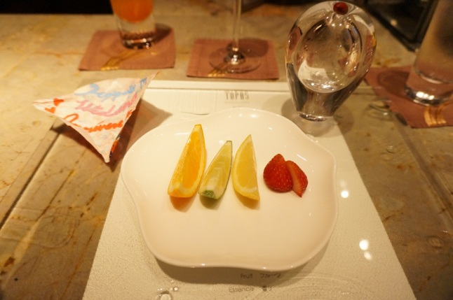 Fruit Tapas Molecular Bar